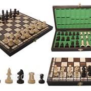 Шахматы деревянные фото