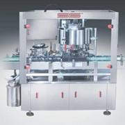 Автоматическая ротационная этикетировочная машина (жидкий клей) фото