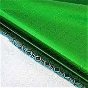Пленка 220114 1108-70 голографическая, цвет зеленая, толщина 40 мкр..в рулоне см_70*7500 ( 1 шт.) фото
