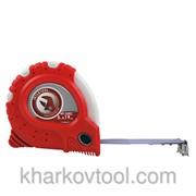Рулетка с фиксатором 5м Супер Магнит Intertool MT-0305 фото