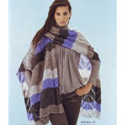 Вязаные палатины и шарфы фото
