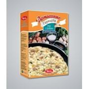 Каши быстрого приготовления, Рис с грибами в сметанном соусе фото