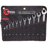 Набор комбинированных ключей 11шт. INTERTOOL XT-1003 фото