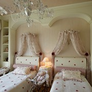 Текстильный дизайн и оформление интерьера комнат для детей. фото