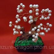 Статуэтка Дерево счастья из жемчуга фото