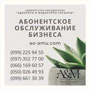 Абонентское обслуживание бизнеса Харьков, юрист фото