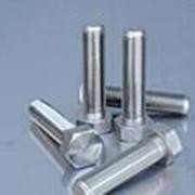 Болт 10х60 нержавеющая сталь DIN 933 (А2) фото