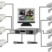 Проектирование и монтаж систем видеонаблюдения. фото