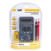 Мультиметр цифровой Universal M830B IEK (60) фото