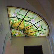 Подвесные потолки Изготовление витражей фото