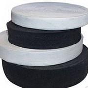 Лента эластичная. Резинка от 1см до 5 см. Белая и черная. фото