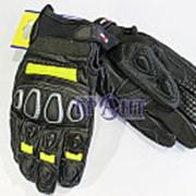 Мотоперчатки HIZER кожа 567-A S фото