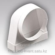 Соединитель плоских воздуховодов с круглыми угловое 90 градусов 620CK12.5КП фото