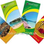Дизайн рекламного буклета, каталога, календаря, открытки фото