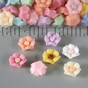 Цветы акриловые 13 мм/100 шт 6508 фото