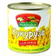 """Кукуруза сладкая консервированная """"Марика"""" фото"""