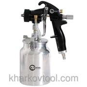 Краскораспылитель пневматический HVLP BLACK PROF Intertool PT-0214