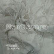 Ткань Рюша ( белый ) 1172 фото