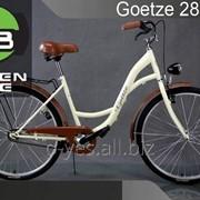 """Прогулочный городской велосипед Goetze 28"""" + фара LED фото"""