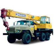 Услуги автокрана (16 тонн) фото