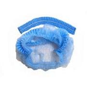 Одноразовая медицинская шапочка типа Шарлотка, 21,10гр/м2 фото