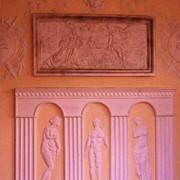 Декорирование интерьера лепниной барельефом художественная лепка, изготовление барельефов, лепнины, лепного декора фото