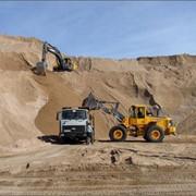 Песок для бетона фото