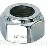 Накидная гайка для вентилей LadyFAR с наружной резьбой 16 мм, серебро, артикул FL 0335 16 фото