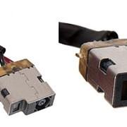 Разъем питания PJ630 для ноутбука HP Pavilion 15-F, 15-N, TouchSmart 10, 14-N Series. 4.5x3.0 mm с иглой. С кабелем 4 см. p/n: 730932-FD1, 762507-001. фото