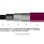 Нагревательный кабель саморегулирующийся КСТМдля труб фото