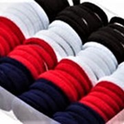 Резинка 380799 BBox тканая д/волос d=3,5 см 3х цветн. микс в уп. 80 шт. ( цена 1 уп.) фото