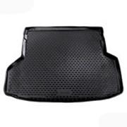 Коврик в багажник Toyota Highlander 2012-2014 5/7 мест (полиуретановый с бортиком длин.) фото