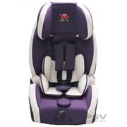 Автокресло детское 9-36кг. Little Car 526 ISOFIX фиолетовый фото