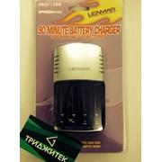 Сетевое зарядное (ЗУ пальчиковое) AA, AAA Lenmar (PRO712BR) фото