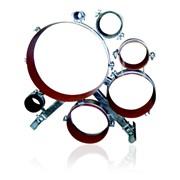 Опорно-направляющие кольца стальные и стальные роликовые фото