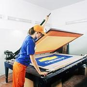 Трафаретная печать. Шелкография. фото