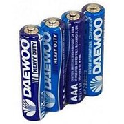 Батарейка 030450 АА R 6 S_4 Daewoo HD ( 1.5 v ) (уп.__шт.) пальчиковая фото