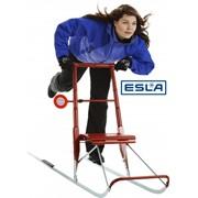 Финские складные сани Esla Т6 (для взрослых ростом 155-170 см) фото