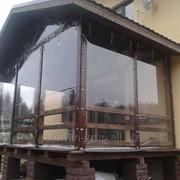 Уличные шторы, защитные шторы для беседки, защита на беседку фото