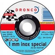 Отрезной круг по металлу DRONCO Special AS60INOX/T41 фото