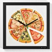 Часы Pizza фото