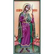 Резные иконы Борис, святой благоверный князь страстотерпец, ростовая мерная икона, резьба по дереву Высота иконы 38 см фото