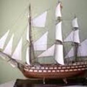 Экслюзивные маштабные модели парусников фото