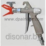Пистолет для окрасочных аппаратов высокого давления DP6377 (500 Bar, для шпаклевок и высоковязких составов) фото