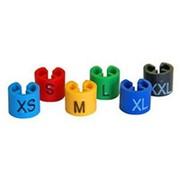 Размерники пластиковые, размер XS, цвет голубой. MD-RMK-24 фото