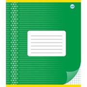 Тетрадь школьная А5, клетка 18л, обл.картон (орнамент) С 1019 фото