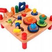 Развивающие деревянные игрушки фото