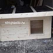 Будка Собачья №25 (Размер 1.5-0.8-0.8 м) Утеплённая фото
