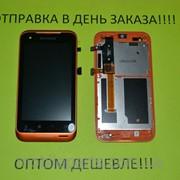 Дисплей + Сенсор Lenovo A660 Orange Оригинал 100% фото