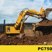 Экскаватор PC750-7 фото
